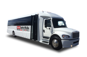 large charter bus for school field trips