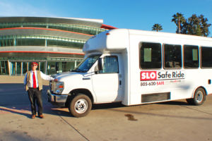 cal poly event shuttles