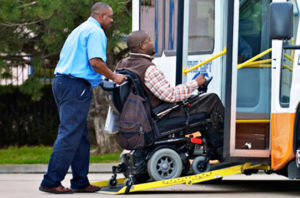 ada accessible buses