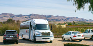bus for paso robles wine tours